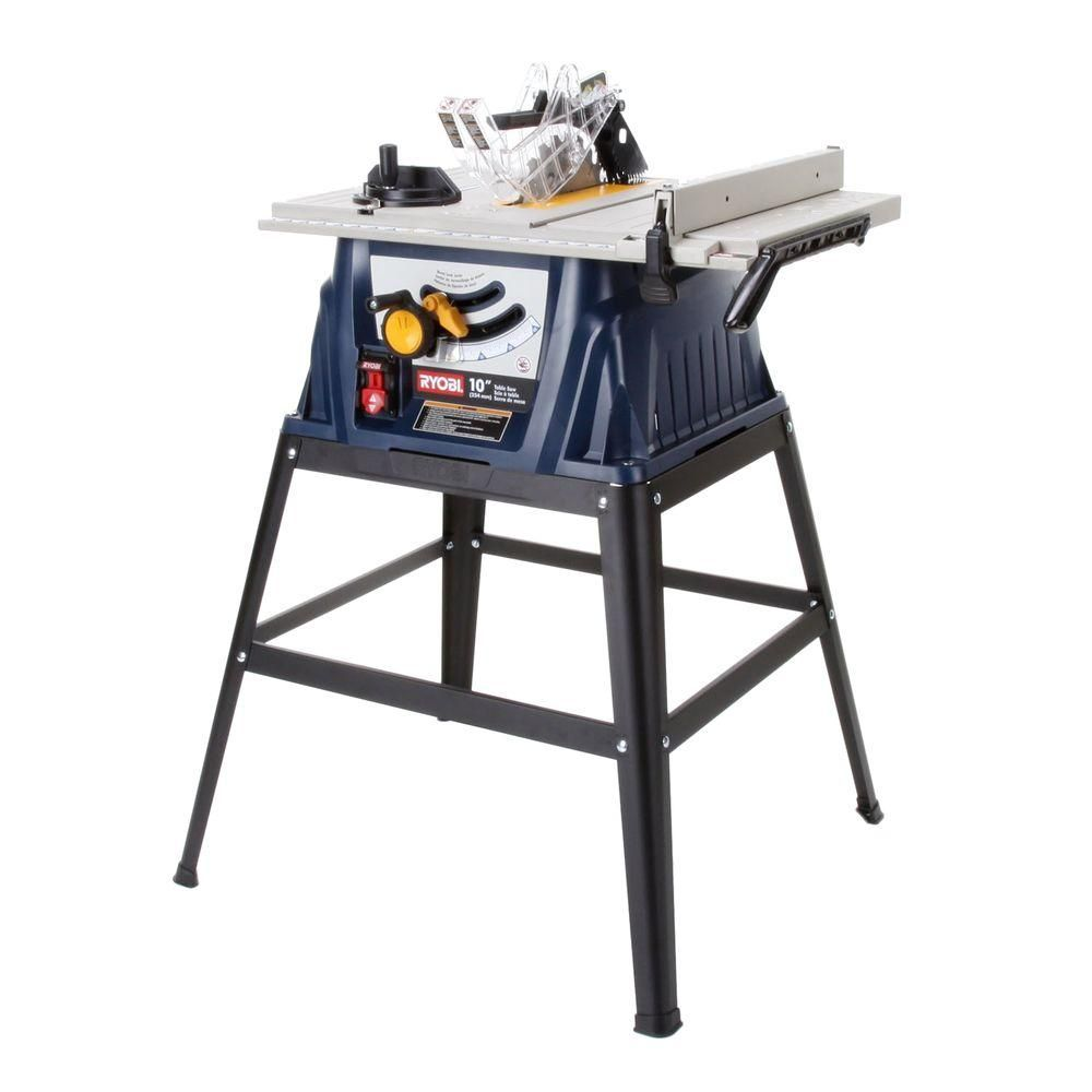 Ryobi 15 Amp 10 In Table Saw Rts10 At The Home Depot Portable