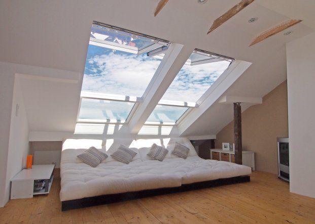 wohnzimmer 'chillen unterm dach'  wohnung wohnen