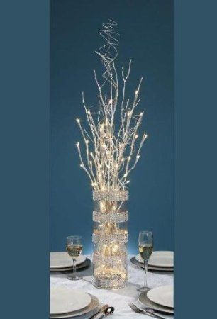 Battery Operated Led Branch Table Decor David