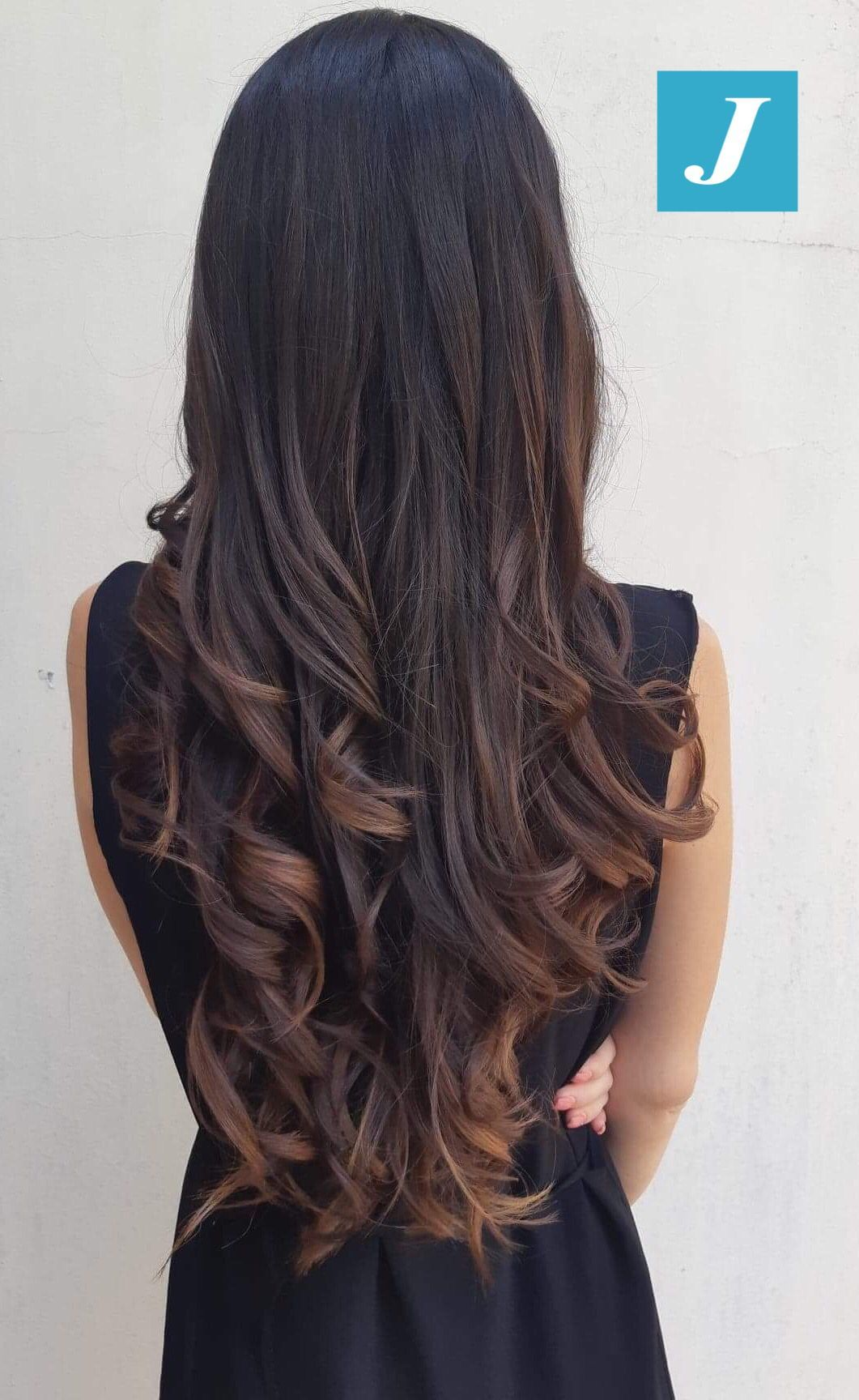 Pin By Amnie R Camos On El Cabello Hair Styles Long Hair Color Hair Color For Black Hair