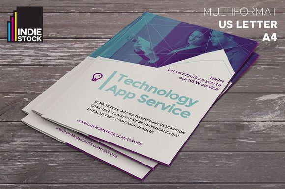 Technology Brochure Template Brochure Template Brochures And Template