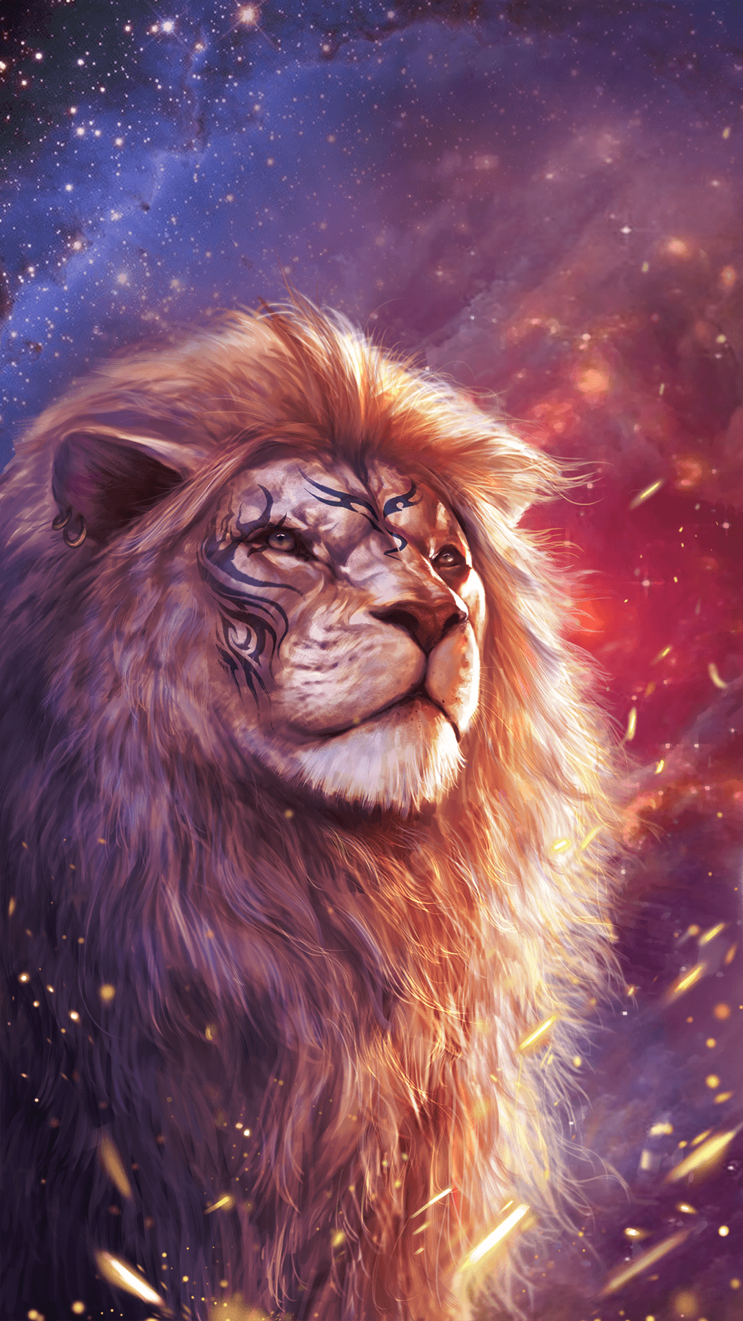 Lion Iphone Android Iphone Desktop Hd Backgrounds Wallpapers 1080p 4k In 2020 Lion Pictures Lion Wallpaper Lion Art