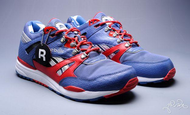 super popular 3d35a 6f8f3 Captain America Reebok   Marvel Create Superhero Footwear