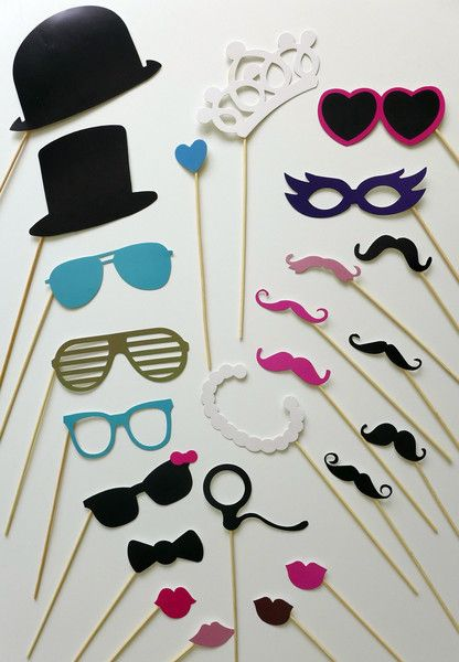23 photo booth accessoires hochzeit lustige fotos von. Black Bedroom Furniture Sets. Home Design Ideas