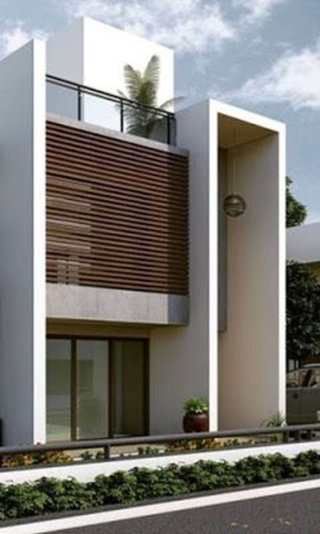 30 Stunning Minimalist Houses Design Ideas That Simple Unique And Modern Facade House House Architecture Design Minimalist House Design