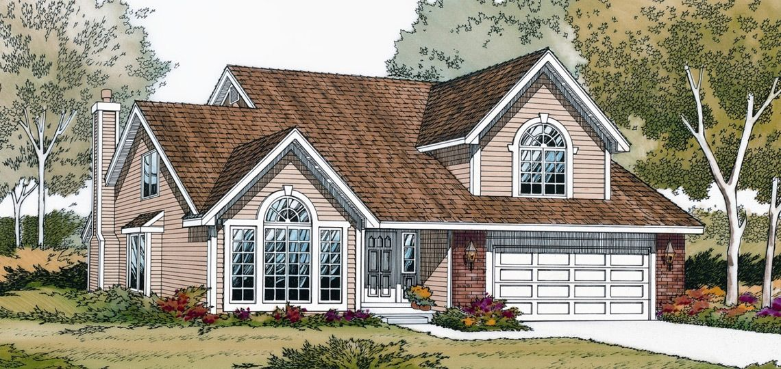 4 bedroom house plan: andover | 84 lumber. natural light abounds