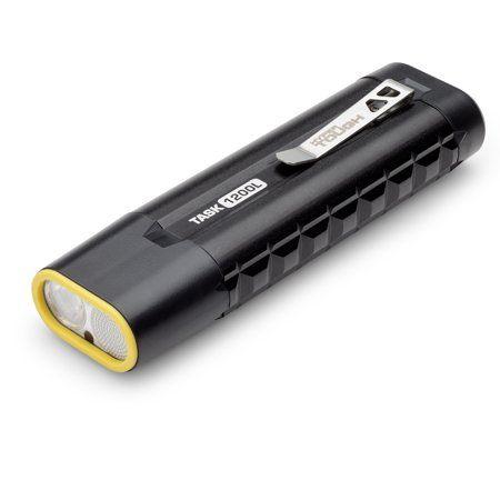 Hyper Tough Rechargeable 1200 Lumen Led Task Light Black In