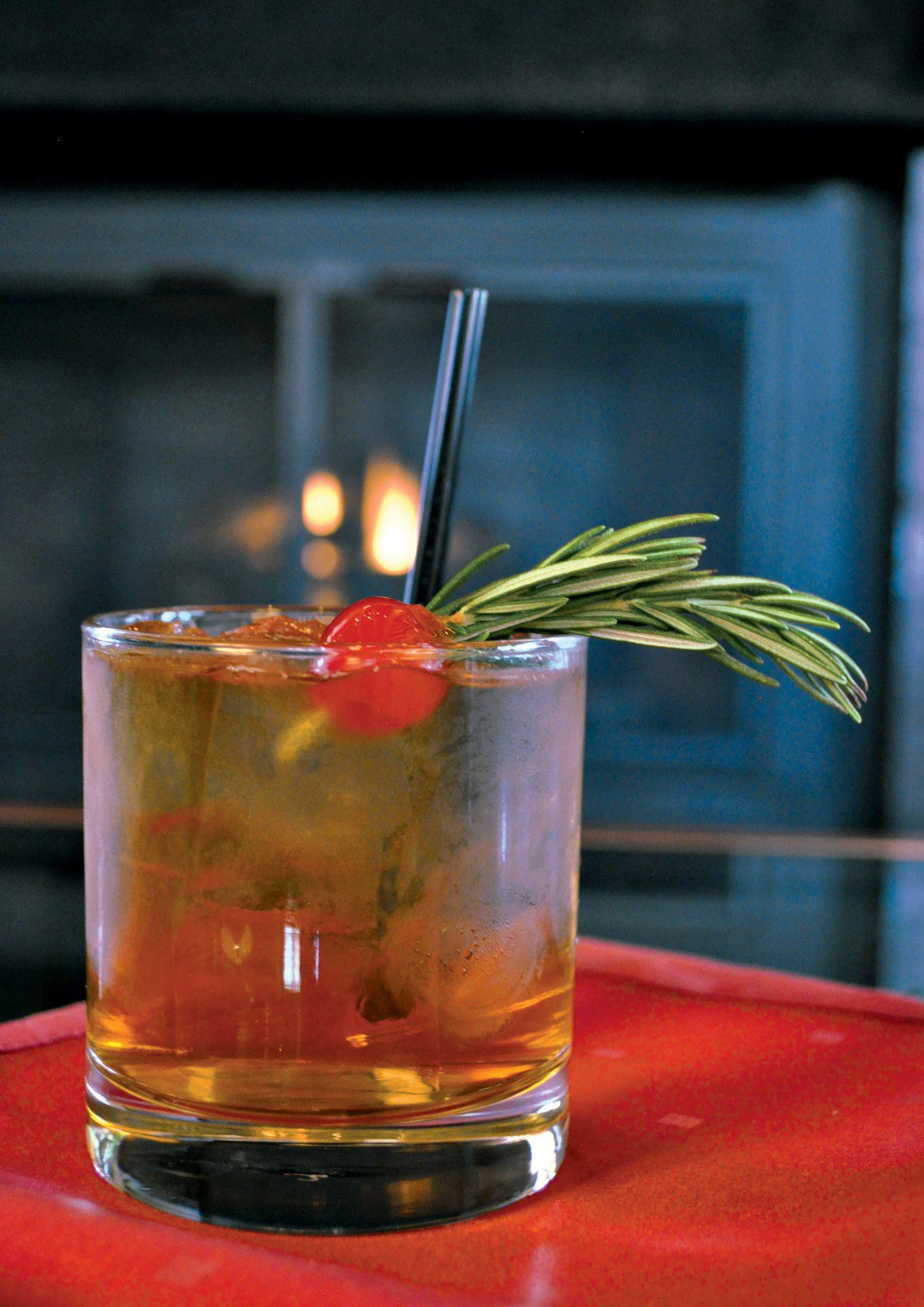 Co me mistletoe martini drinks cocktails