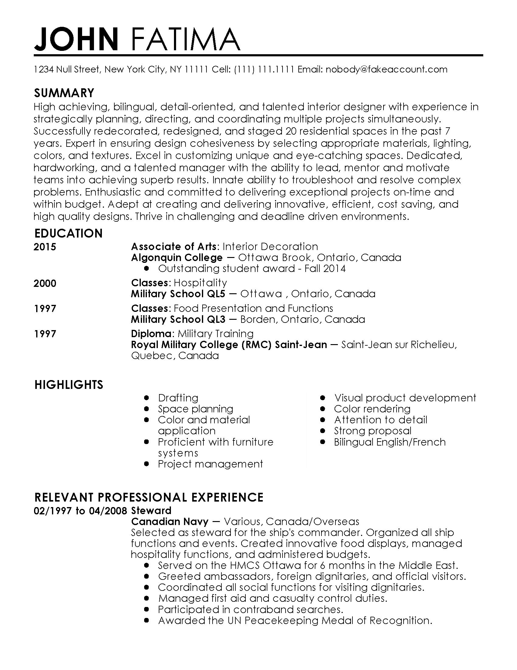 resume professional makemoneywithalex statement purpose format