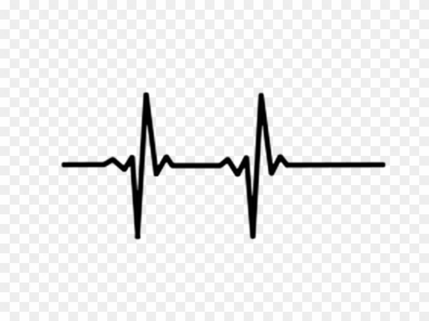 Heartbeat Graphic Png Heart Beats Clipart Clip Art Ekg Tattoo In A Heartbeat