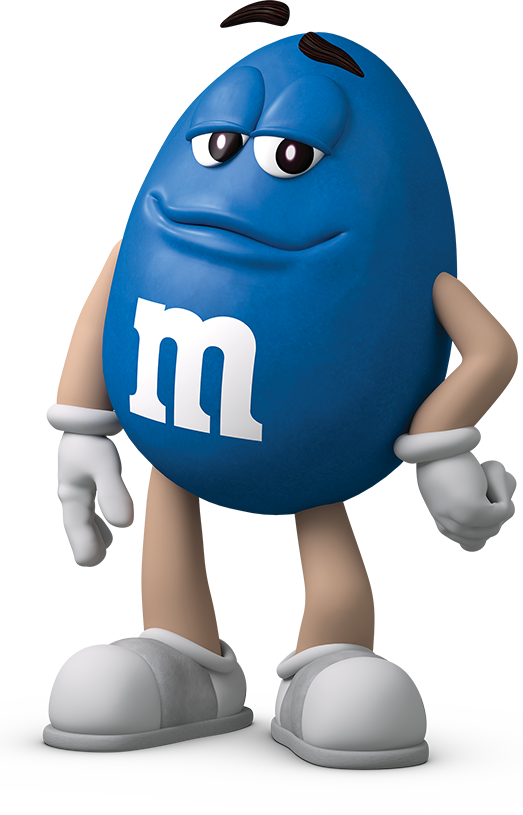 M&M's Blue Spokescandy in 2020 M&m characters, Halloween