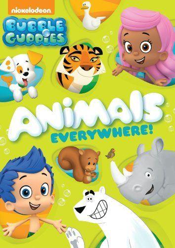 Bubble Guppies Animals Everywhere Dvd Bubble Guppies Http Www Amazon Com Dp B00h7bj1b4 Ref Cm Sw R Pi Dp N11ktb0y6rktr Bubble Guppies Nickelodeon Guppy