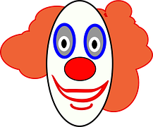 Smiley Face Free Images On Pixabay 5 Smiley Happy Clown Faces Send In The Clowns