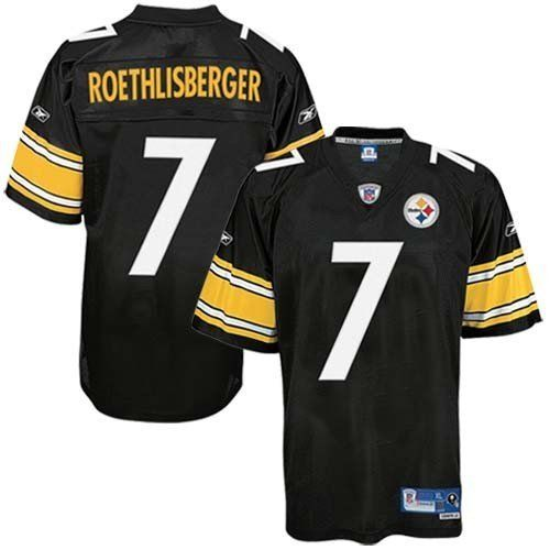 quality design 7f52f 4a2a9 Reebok Pittsburgh Steelers Ben Roethlisberger Premier ...