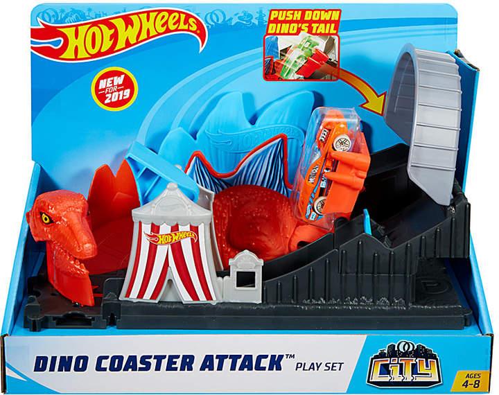 Mattel Hot Wheels Dino Coaster Attack Playset Playset Hot