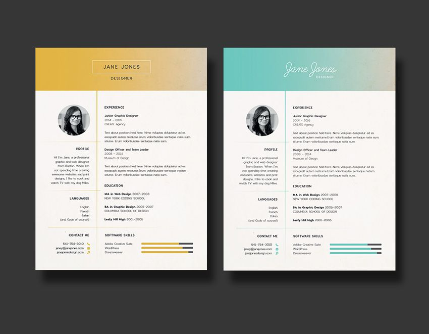 Create The Perfect Resume Adorable How To Design The Perfect Resume  Designlearn Adobe Illustrator .