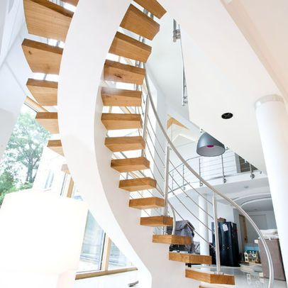Staircase, York - contemporary - staircase - london - Rhoco