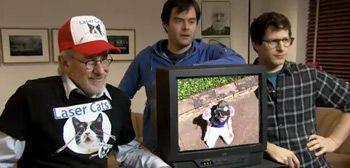 Steven Spielberg Cameo = hilarious!!
