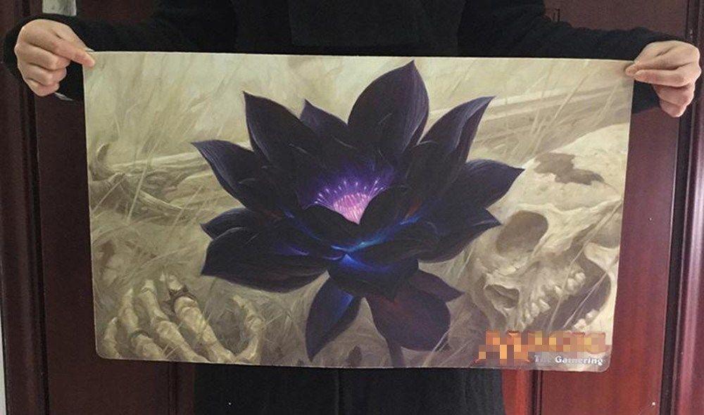 Lotus D Or Tapis De Jeux De Societe Carte Magique Tapis De Jeu