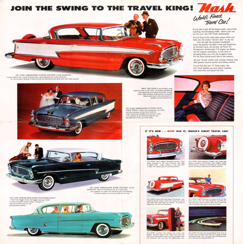 1957 Nash | Vintage Car Ads | Pinterest | Cars and Car illustration