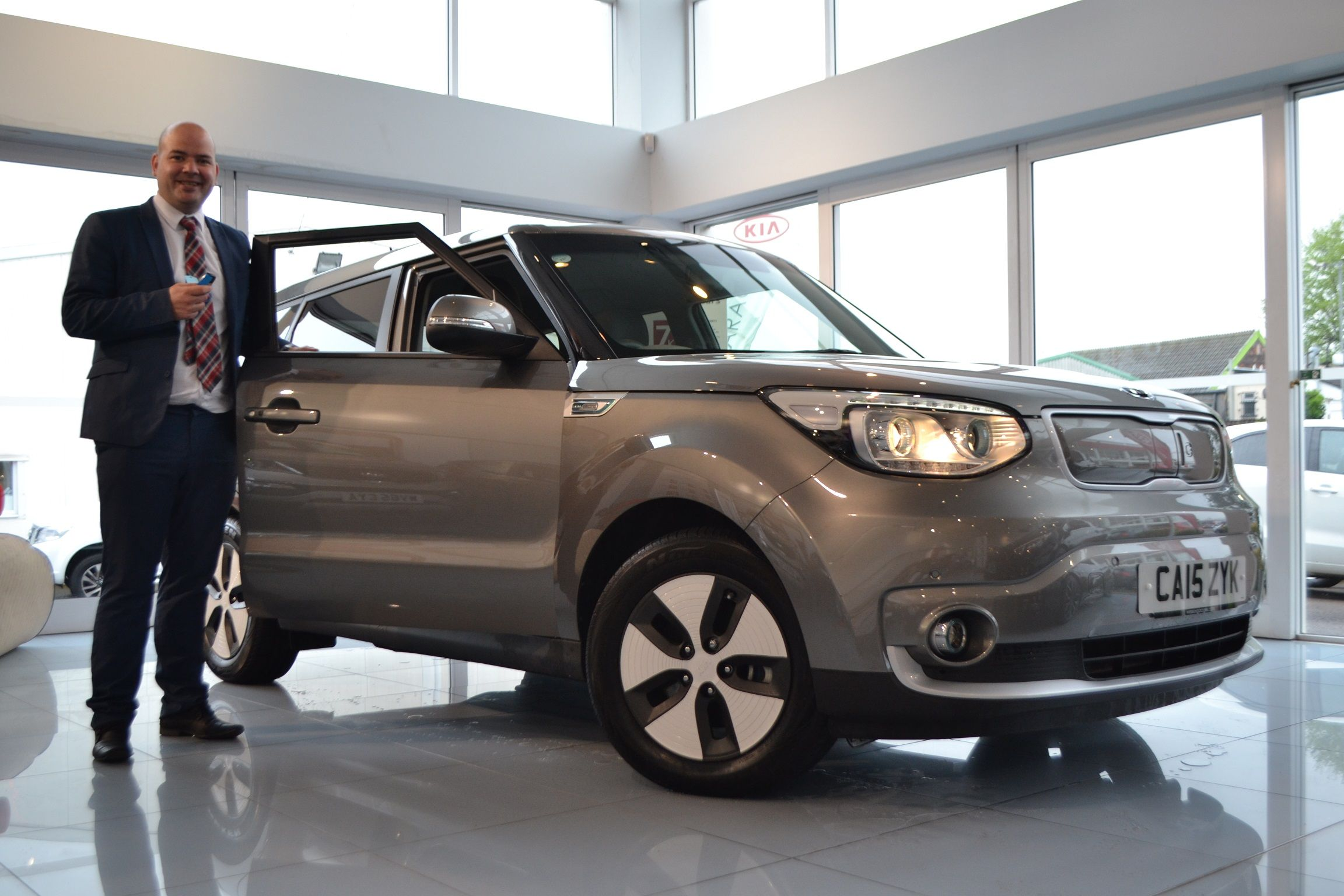 The Kia Motors UK SoulEV has been named as one of the