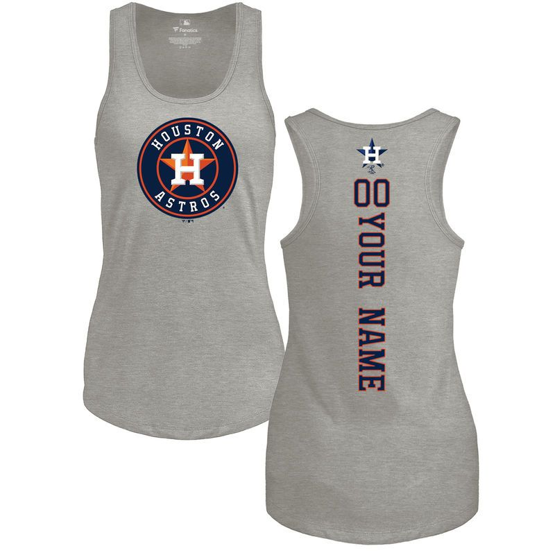 Houston Astros Fanatics Branded Women's Personalized Backer