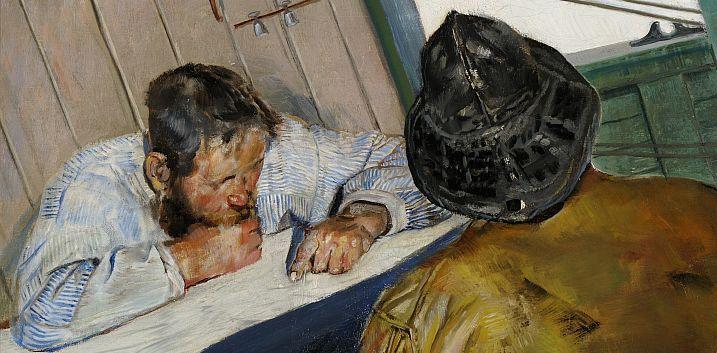 Elevers Fortellinger Om Christian Krohgs Malerier Christian Portrait Painting Art