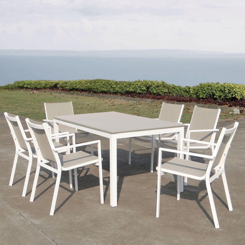 Majestic Garden Mesa y sillas de exterior Rímini El comedor de ...