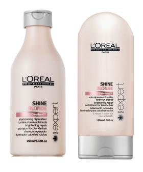 shampoing cheveux blonds méchés