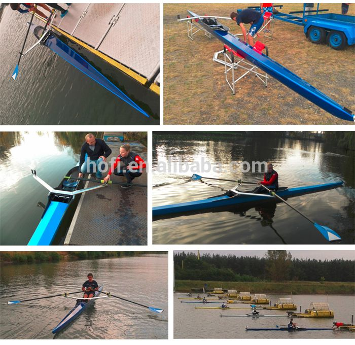 2x racing shell/rowing boat 2015 for sale | rowing boat