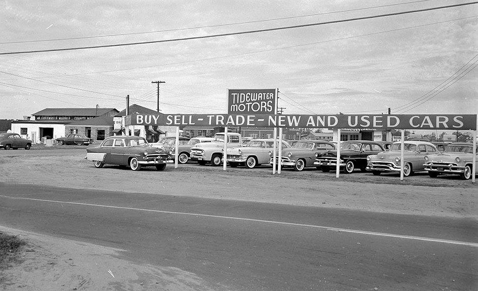Tidewater Motors   Vintage car dealers & gas stations   Pinterest ...