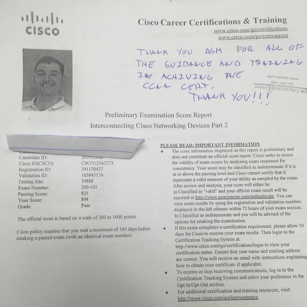 We are proud of our student who has passed their cisco switch exam welcome to the cisco ccna certification course landing page 1betcityfo Images