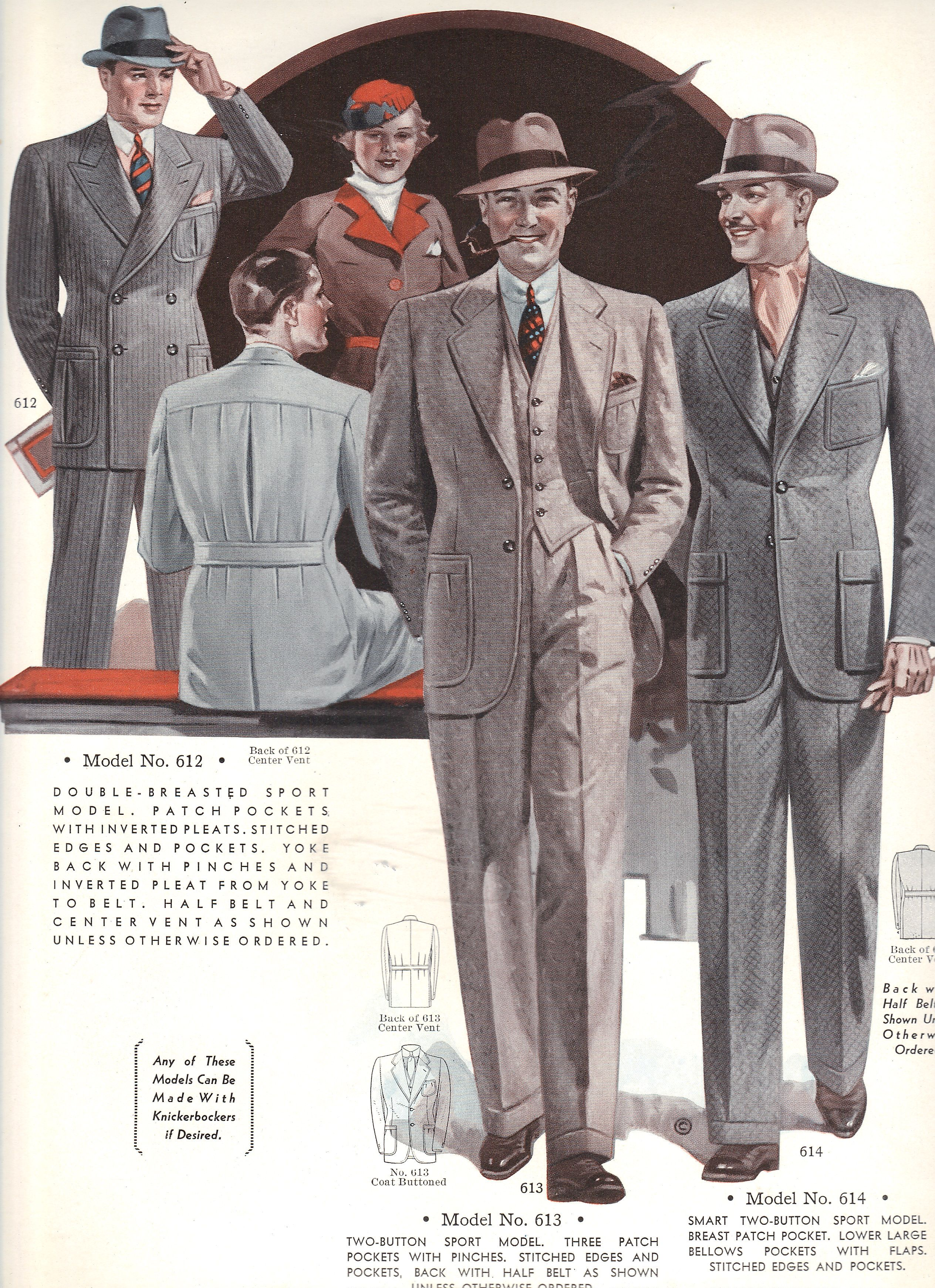 Pin By Dorila Clothes On Our Clothes Fashion Illustration Vintage Vintage Outfits 1940s Mens Fashion
