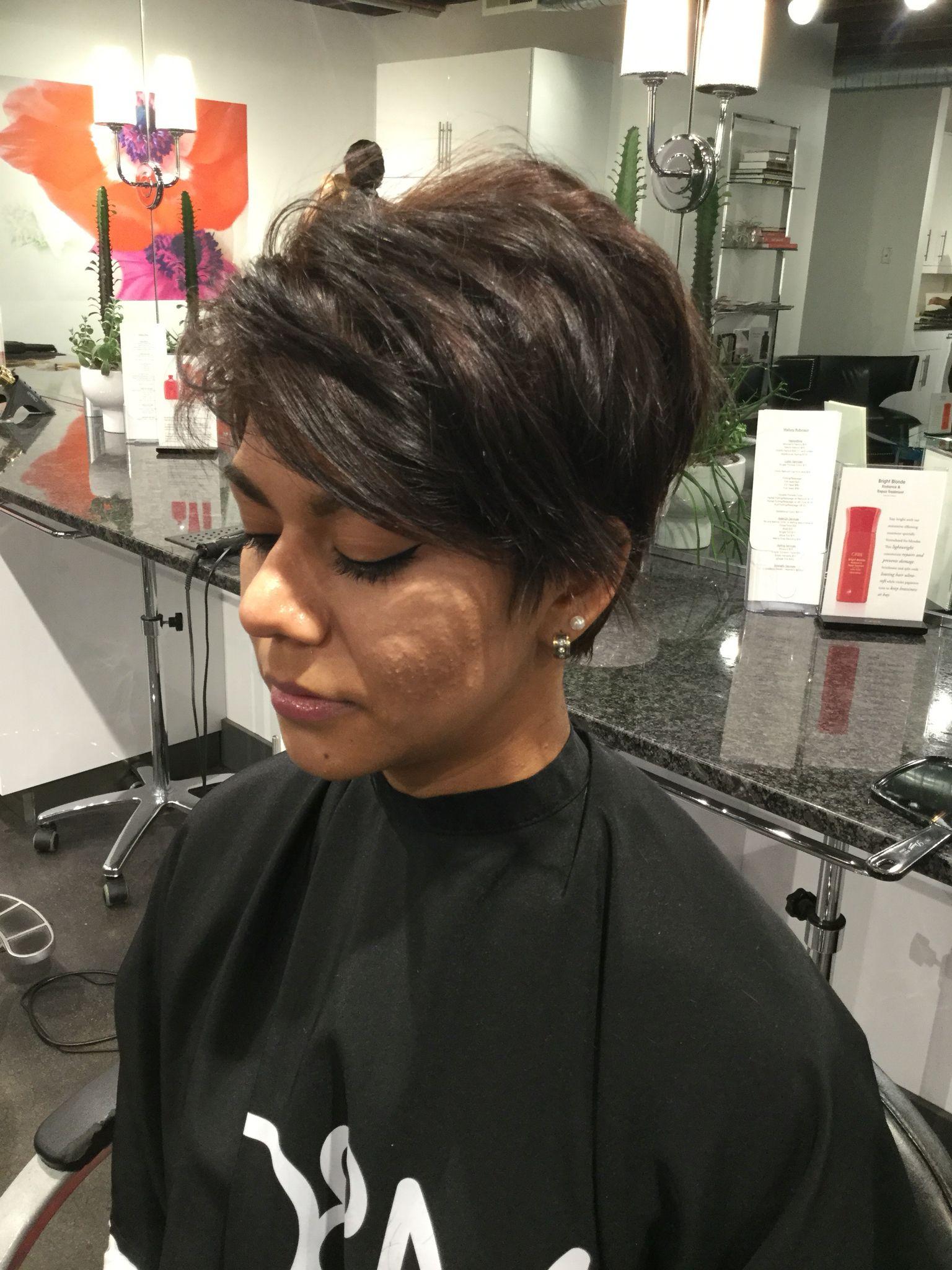 Textured short pixie haircut Short Women s Haircuts