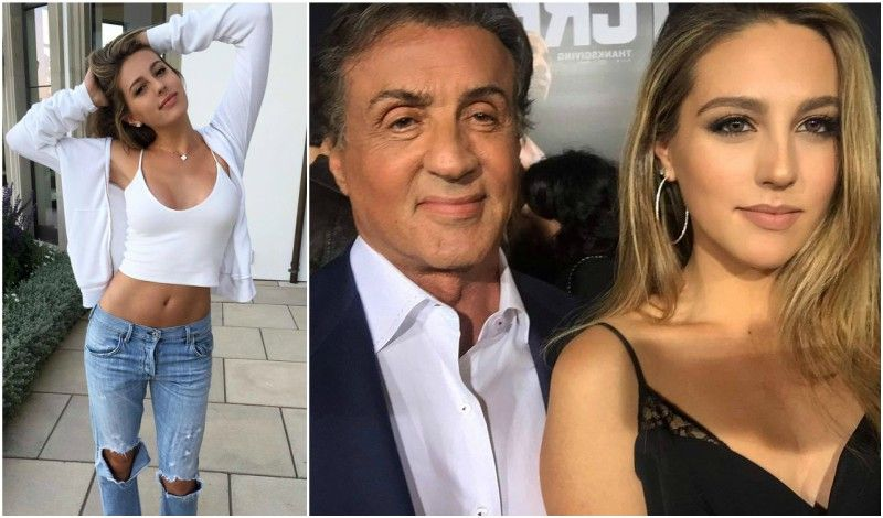The Children In The Sylvester Stallone S Family Brood Sylvester Stallone Sylvester Stallone Children Celebrity Families