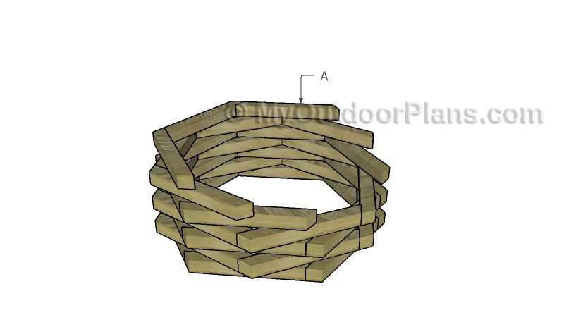 Octagonal Planter Plans Woodworking Plans Free Wooden 400 x 300
