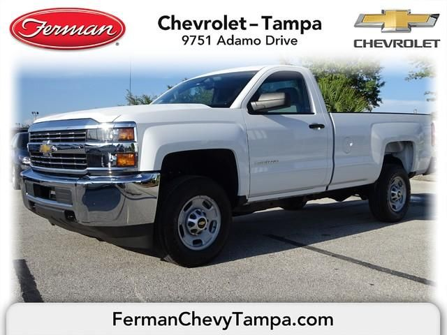 2015 Chevrolet Silverado 2500hd Work Truck Summit White