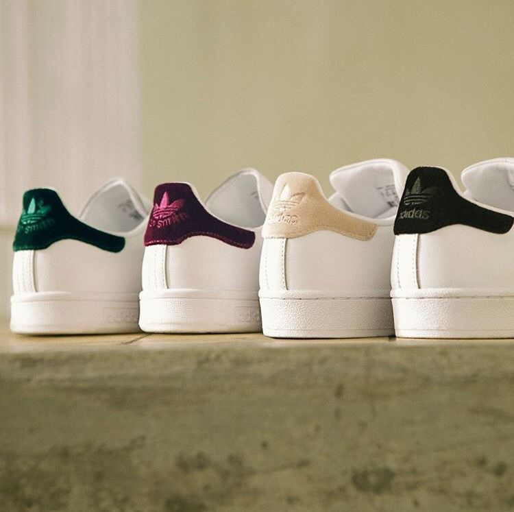Adidas stan smith velour pack | Soulier adidas