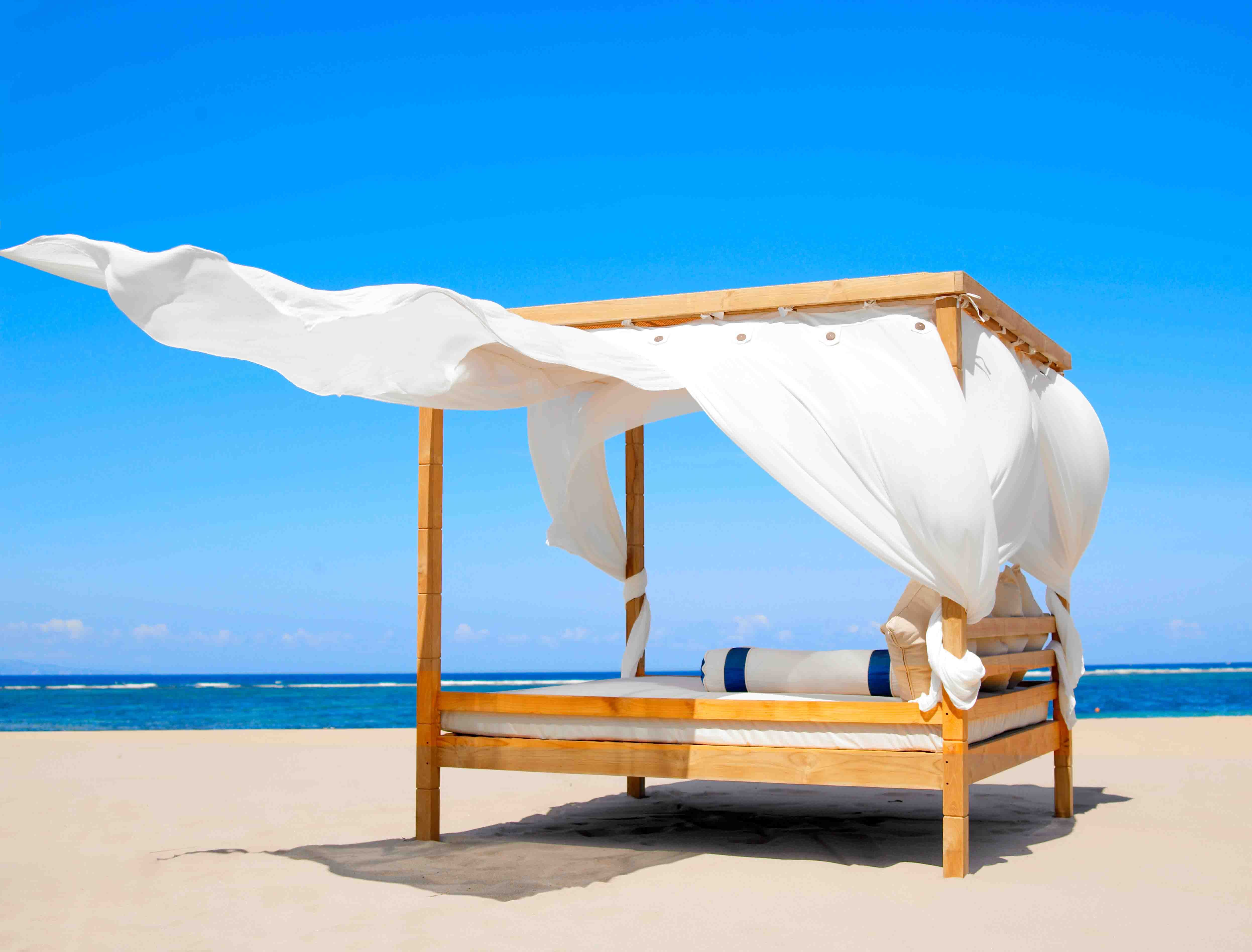 Beach Mirage Cabana By The