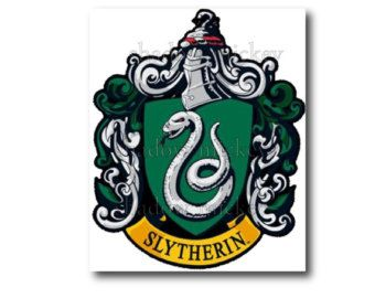 photo relating to Printable Iron on Patches named crest slytherin . Harry Potter printable ,Iron electronic