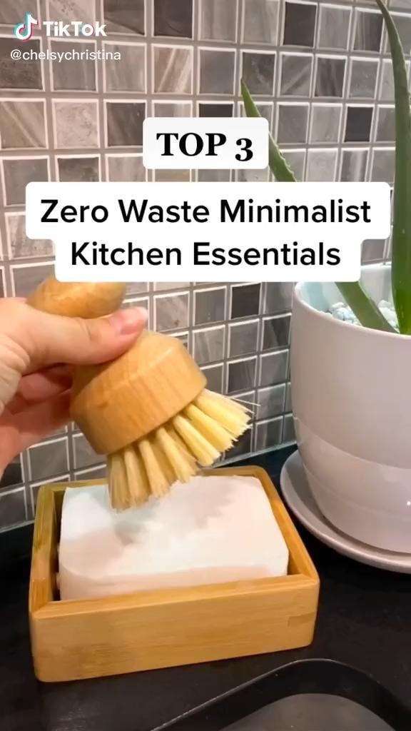 3 Zero Waste Minimalist Kitchen Essentials Shopping TikTok