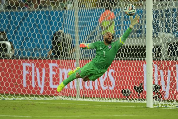 Greatest USA Keeper of all times,Tim Howard of course