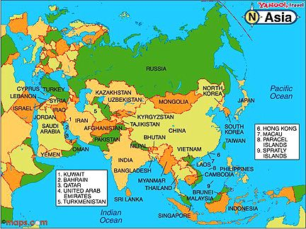 map of russia and asia maps Pinterest Russia and Asia - new world map kuwait city