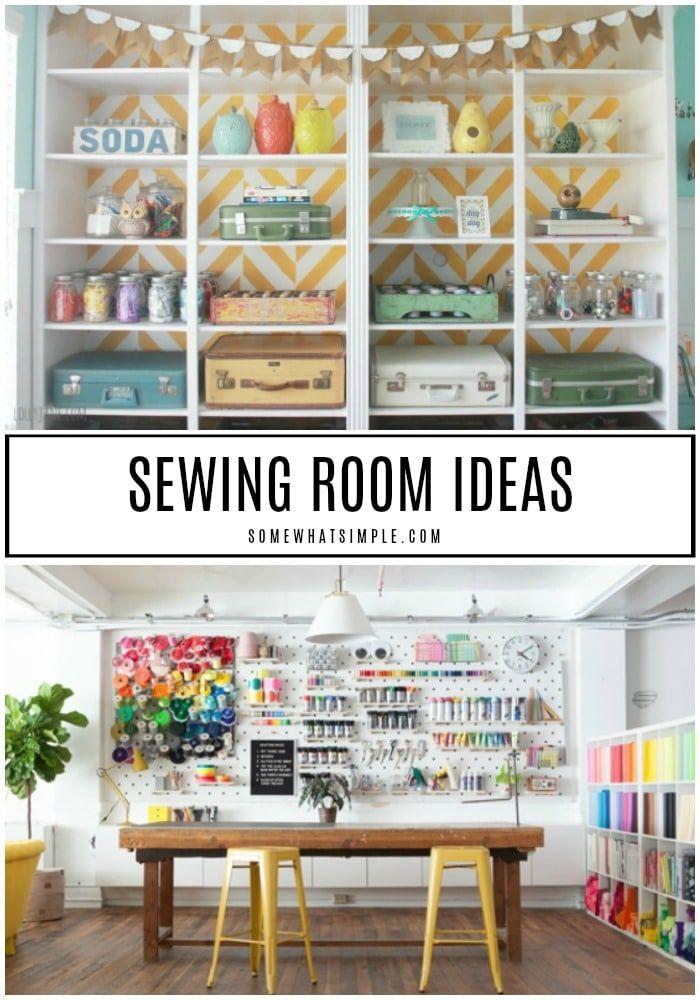 Craft Room Storage On A Budget Organizing Ideas
