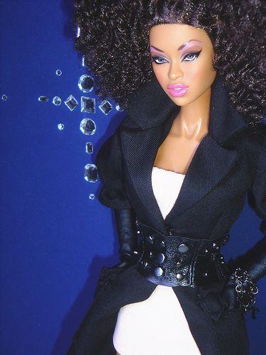 Muñecas Modelo Y Accesorios Fine Fashion Royalty Doll Head Integrity Toys