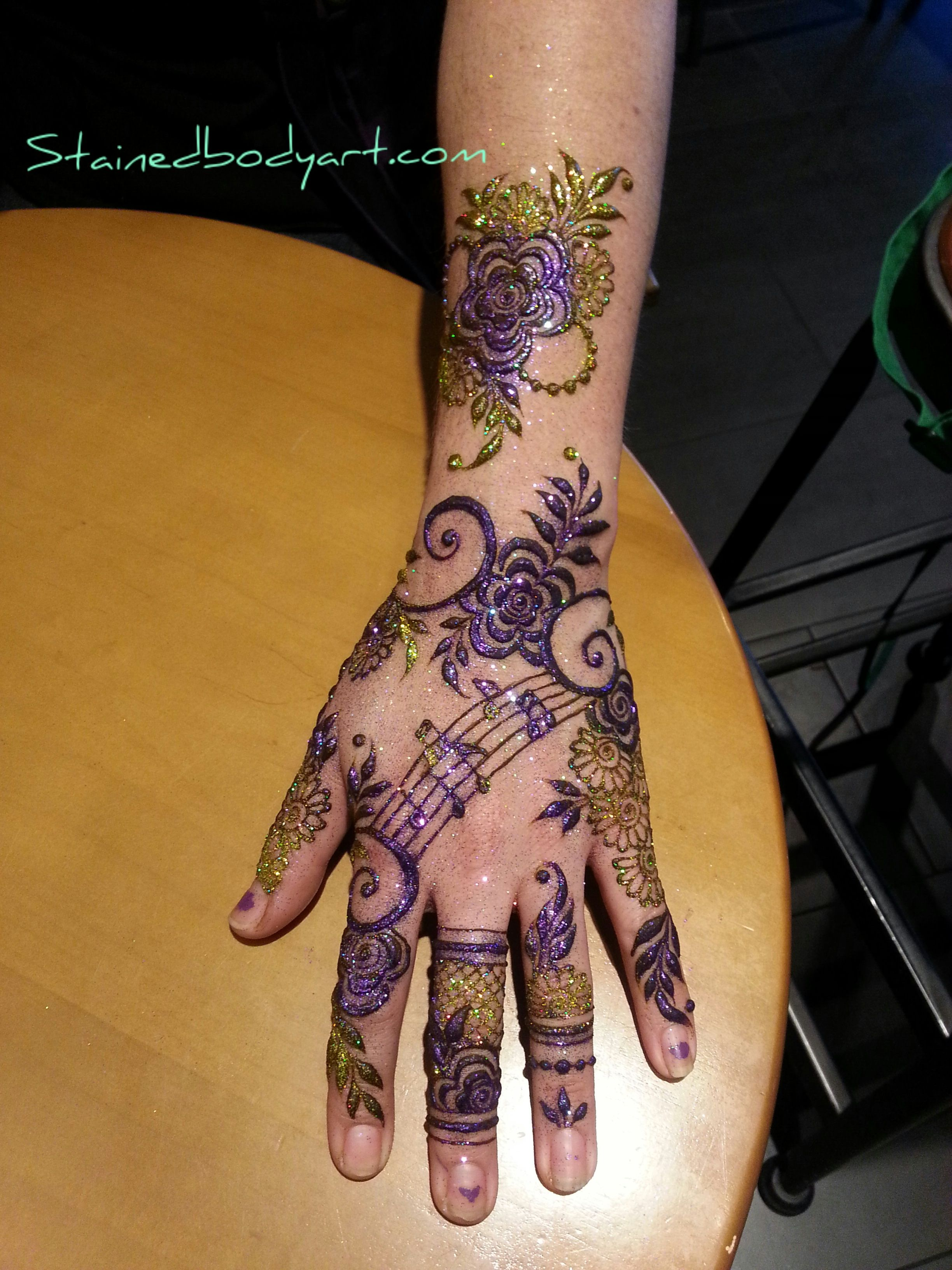 Images about mehndi design on pinterest mehndi - Henna Design With Musical Notes