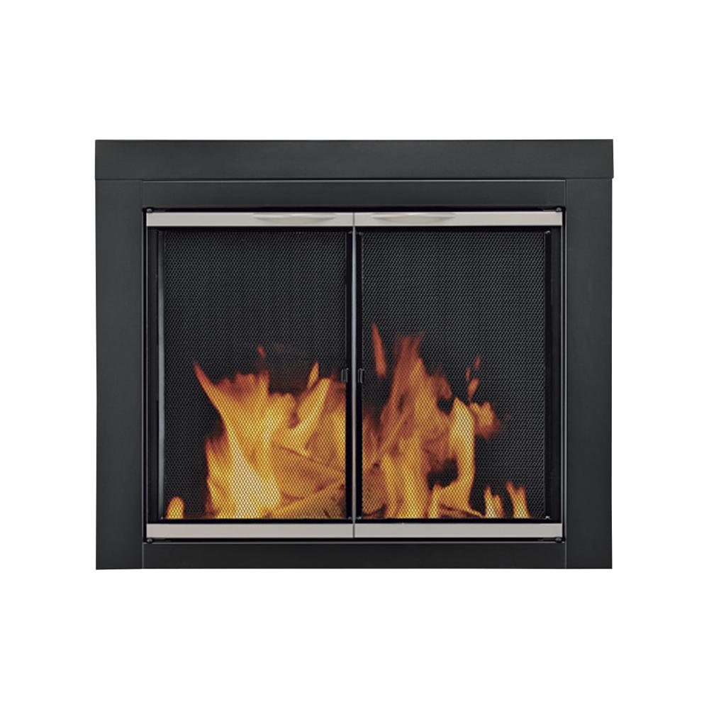 Alsip Fireplace Glass Door For Masonry Fireplaces, Medium