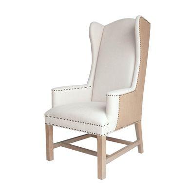 Orient Express Furniture 7107UP.2OAT-BT/SW Villa Bennett Arm Chair