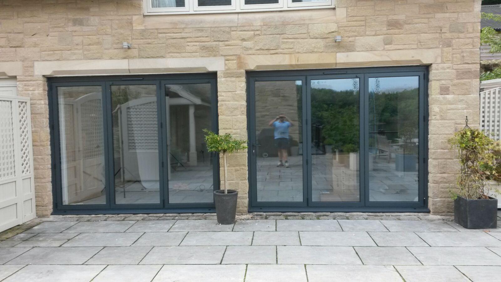 Stunning Aluminium Bi Folding Doors From Bi Folding Door Prices Design Price And Order Instantly Online Available Wit Bifold Doors Sliding Door Panels Doors