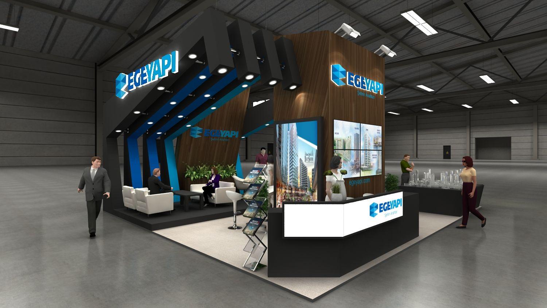Ege Yapi Cityscape Jeddah 6x12 Booth Design Stand